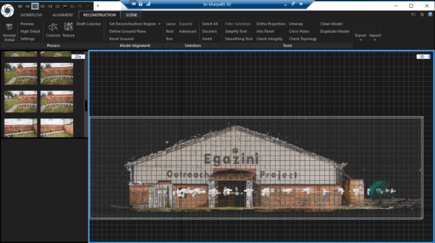 Engazi Photogrammetry screenshot exterior